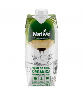 Água de Coco Orgânica 330ml...