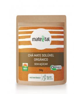 Chá Mate solúvel orgânico...