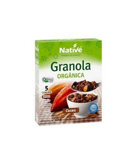 Granola Cacau Orgânica...