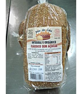Pão de Cenoura Orgânico -...
